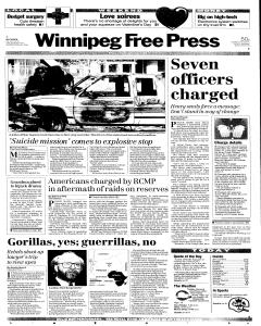 winnipeg-free-press, February 12, 1993, Page 1